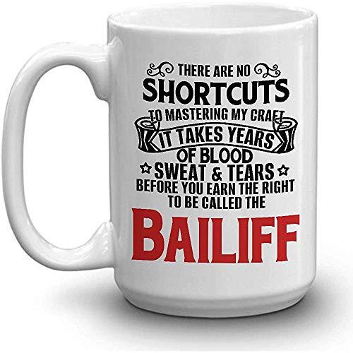 BAILIFF Coffee Mug - SUDADERA DE SANGRE LÁGRIMAS GANADAS BAILIFF