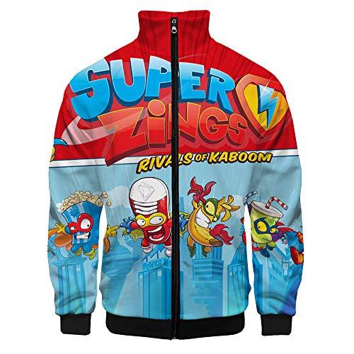 Superzings Equipaje Moda clásica Sudadera Suave algodón Bonito Jersey Hombres liviano Outwear...