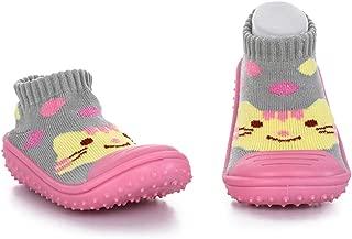 Unisex Baby Socks Shoes Anti Slip Floor Socks with Soft Rubber Bottom Infant Newborn Cotton Sock Boots