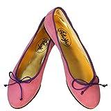 Petruska Ballerinas Jaipur Wildleder Pink