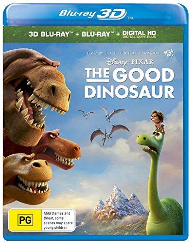 The Good Dinosaur 3D Blu-Ray + Blu-Ray + Digital Hd [Edizione: Australia] [Italia] [Blu-ray]