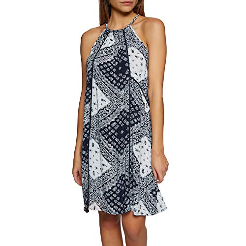 Superdry Riley Lace Halter Dress. Robe