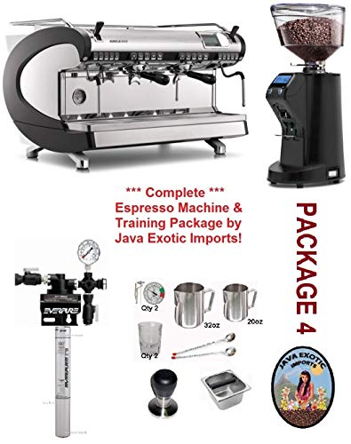 Review Of Nuova Simonelli Aurelia WAVE Digital 2 Group Espresso Machine Package INCLUDES & INSTALLAT...