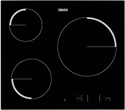Zanussi ZEV6330FBA hobs - Placa vitrocerámica con control táctil Easy Touch, Negro
