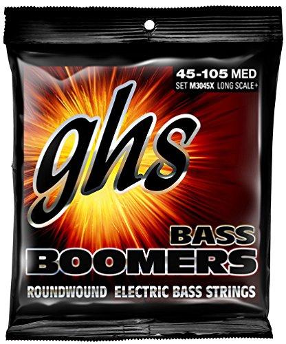 ghs エレキベース弦 BASS BOOMERS/ベースブーマーズ ミディアム 45-105 M3045X