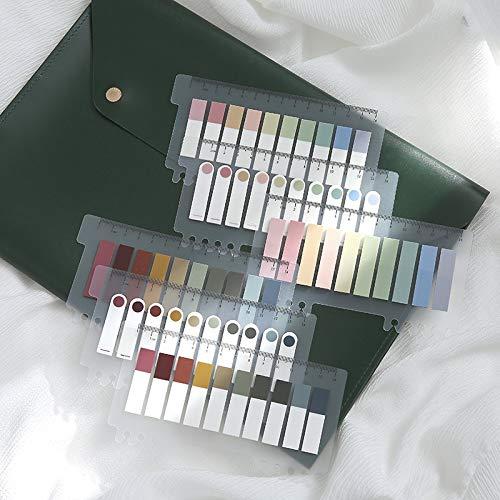 200 Stück Retro Morandi Farbe PET...