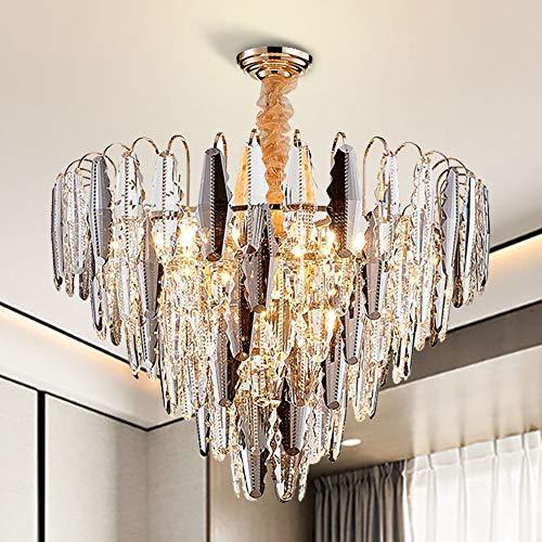 The only good quality interieurverlichting geometrische spinnenlamp van glas met dubbele ladder, woonkamer lamp slaapkamer