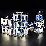 N /A LED Light Kit para COMISARÍA Building Blocks Set de iluminación Compatible con 60141 (Modelos excluyentes, sólo se Enciende)