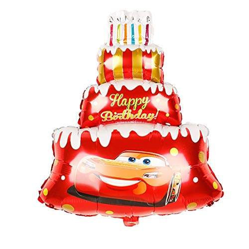 SauParty XL Riesen Helium Folienballon Cars McQueen Kinder Geburtstag Party Geschenk Auto