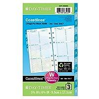 【並行輸入品】Day-Timer 2014 Coastlines 2-Page-Per-Week Portable-Size Weekly Refill 3.75 x 6.75 Inch Page Size (13903)