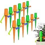 YJLX Riego Automático de Plantas 12PCS Riego por Ggoteo Sistema de Irrigación con Interr...