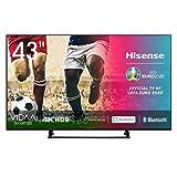 Hisense UHD TV 2020 43AE7200F - Smart TV Resolución 4K con Alexa integrada, Precision Colour, escalado UHD con IA, Ultra Dimming, audio DTS Virtual-X, Vidaa U 4.0