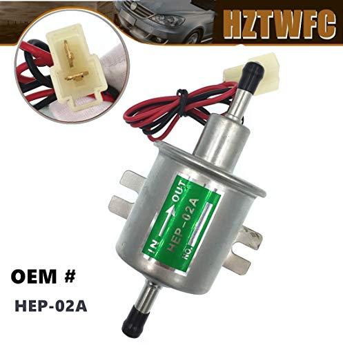 HZTWFC HEP-02A HEP02A Bomba de Transferencia de Combustible 12 Voltios, Baja Presión, Diesel, Gasolina, Gas, Combustible Eléctrico Bomba de Combustible Universal Automotive Modificado Para YAN