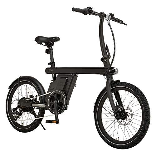 カノーバー(CANOVER) 電動アシスト自転車 ミニベロ 20インチ 9.6Ah 6段変速 FR-Z1 ブラック 53630