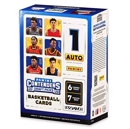2020 NBA Contenders Draft Picks Basketball Trading Card Blaster Box
