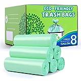 YHEEL 30L Müllbeutel Biologisch Abbaubare Müllsäcke 120 Stück Mülltüten für Küchenessen das...