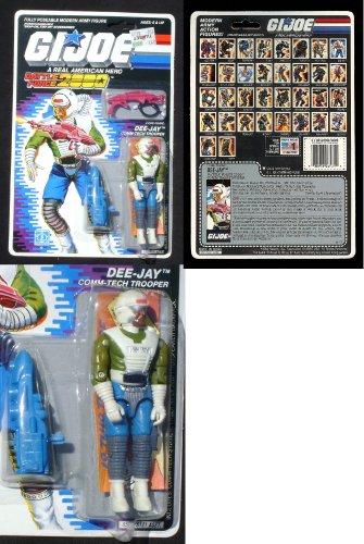 GI Joe 3 3/4 ARAH Battleforce 1988 Dee-Jay MOC