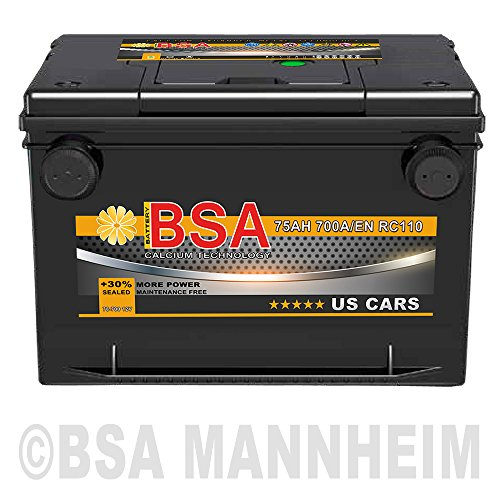 US Autobatterie 75Ah 12V USA CAR US