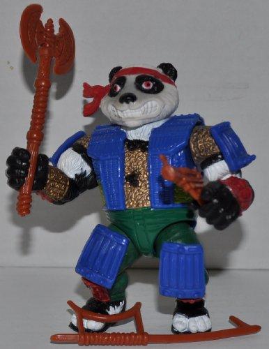 Vintage Panda Khan Action Figure (1990) - Playmates Mirage Studios - TMNT - Teenage Mutant Ninja Turtles Collectible Figure