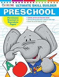 Ultimate Skill Builder Preschool 320 Pages