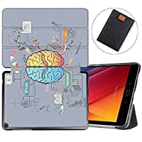 MAITTAO Slim Folio Case For ASUS ZenPad 3S 10 Z500M (NOT FIT Model# Z500KL), Magentic Smart-Shell Stand Cover with Wake/Sleep for ZenPad 3S 10 9.7-Inch Tablet Sleeve Bag 2 in 1, Creative Brain 10
