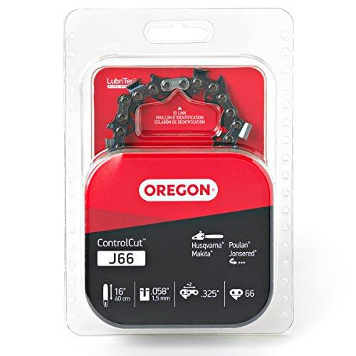 Oregon J66 ControlCut 16-Inch Chainsaw Chain, Fits Husqvarna, Poulan, Makita, Jonsered,Grey