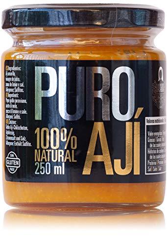 Ají amarillo La Sarita - Puro Ají 250 ml | Sin aditivos ni conservantes | Sin gluten | Apto para veganos
