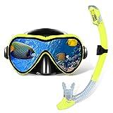 Best Womens Snorkel Masks - Gugusure Dry Snorkel Set, Snorkeling Gear with Anti Review