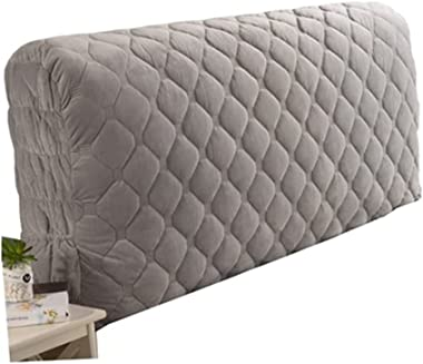 Stretch Headboards Cover Slipcover Backrest Cover Nordic Style All-Inclusive Headboards Dust Cover European Cotton Cover Thic
