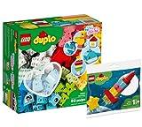 Collectix Lego Set – Duplo Mi Primera Diversión 10909 + Duplo Mi Primer cohete espacial 30322