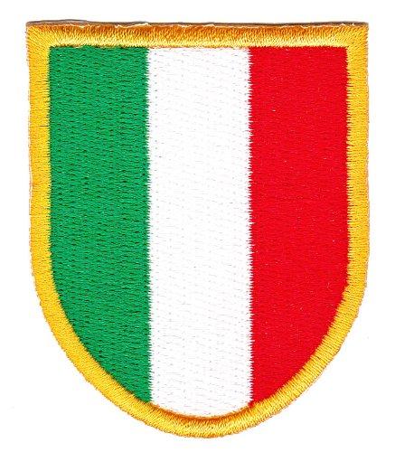 Patch Italien Wappen Aufnäher Bügelbild