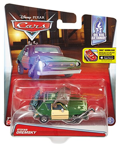 Disney/Pixar Cars Diecast Green Grem with Visor & Torch Vehicle