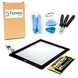 TechnikShop Digitizer für iPad 2 mit Touchscreen Display Glas Touch Displayglas schwarz