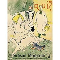 Toulouse-Lautrec Modern Artisan Andre Marty Advert Extra Large XL Wall Art Poster Print アンリドトゥールーズロートレック広告壁ポスター印刷
