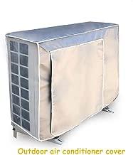 Kanggest.Funda para Aire Acondicionado Exterior Impermeable a Prueba de Polvo c/áscara al Aire Libre Antirresbaladiza Cubierta Protectora