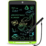 LCD Writing Tablet 12 Inch Toddler Doodle Board ,Colorful Drawing Tablet, Erasable Reusable Electronic Painting Pads, Educational and Learning Kids Toy for 2 3 4 5 6 Year Old Boys and Girls(Green)