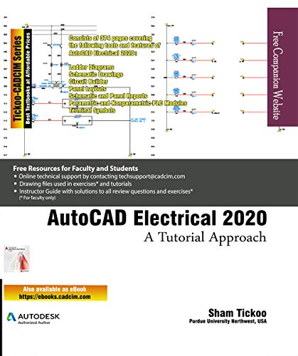 AutoCAD Electrical 2020: A Tutorial Approach (English Edition)