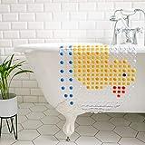 MILI&MARLIE Badewannenmatte und Duschmatte für Kinder und Babys rutschfest | ECO-Friendly und 100% BPA-frei | hochwertige Antirutschmatte Badewanne | passt auch über den Abfluss