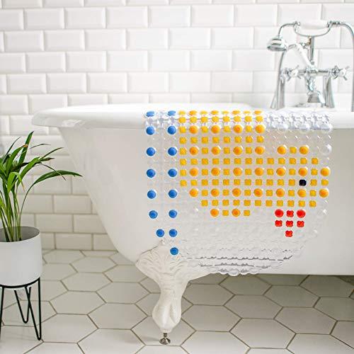 MILI&MARLIE Badewannenmatte und Duschmatte für Kinder und Babys rutschfest | ECO-Friendly und 100% BPA-frei | hochwertige Antirutschmatte Badewanne | stylisches Design