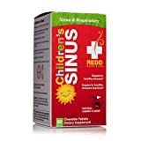 Redd Remedies - Children's Sinus Support, Natural Bronchial Support for Mucus Relief, 60 Chewable Tablets