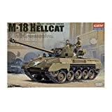 Academy M-18 Hellcat U.S Army 1/35 Plastic Model Kit Europe M 18 Super Hellcat By Academy...