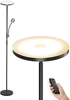 Anten Lampadaire Sur Pied Salon Dimmable 30W 2000LM | avec LED Liseuse Flexible 5W | 3 Colors Température Variable | Moder...