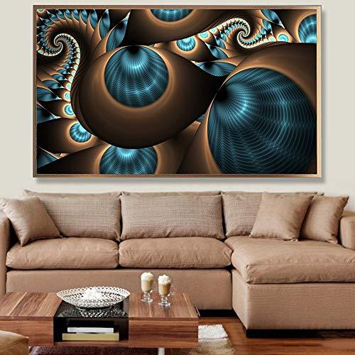 Geiqianjiumai Arte Abstracto patrón psicodélico