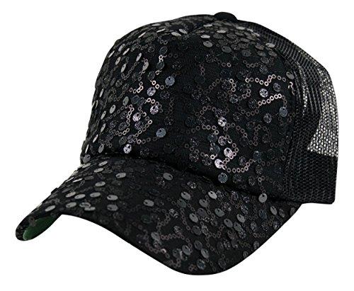 Sequin Basco Hat Beret Sparkle Cap Stretch Elasticated 2 Tone Coloured Rasta