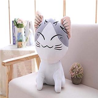 XGXSDPZ 30-60 سم لطيف جبن جبن القطة ألعاب قطيفة تشي S القط المحشوة دمى الحيوانات الناعمة وسادة هدية جميلة للأطفال الفتيات ...