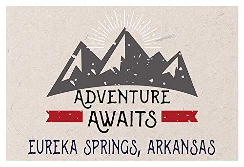 Eureka Springs Arkansas Souvenir 2x3 Inch Fridge Magnet Adventure Awaits Design