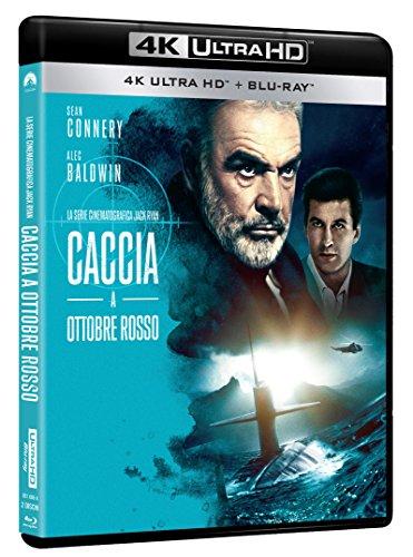 Caccia A Ottobre Rosso (Blu-Ray 4K Ultra Hd+Blu-Ray) [Italia] [Blu-ray]