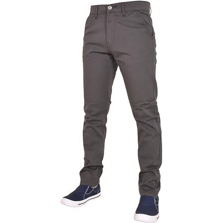 Enzo Men EZ348 Chino Jeans Grey 40R