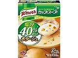 クノール カップスープ ポタージュ塩分40%カット 52.5g ×10個