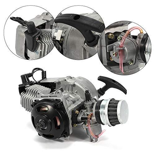 2-Takt Mini motor Getriebe Vergaser ATV Pullstart 49CC 47CC Pocket Dirt Bike